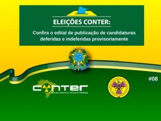 Conheça os candidatos nas eleições do CONTER