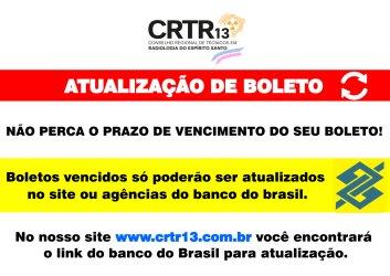 ATUALIZAÇÃO DE BOLETO